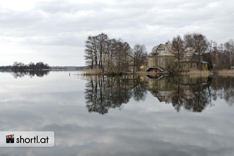 Nahe der Burg Trakai in Litauen