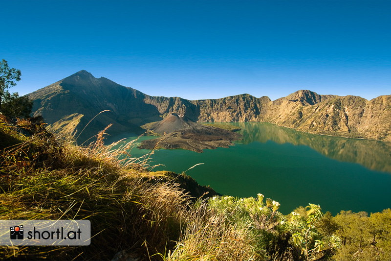 Rinjani Nationalpark auf der Insel Lombok