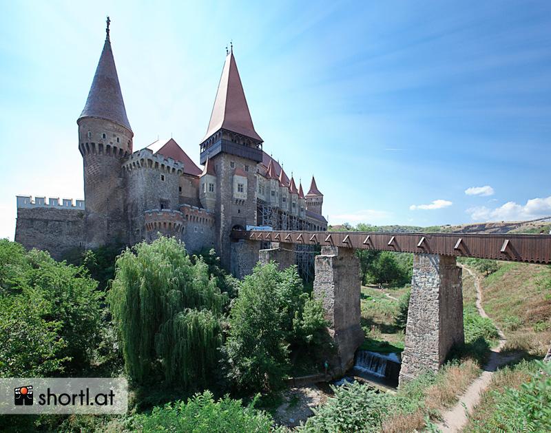 Burg Hunedoara in Rumänien