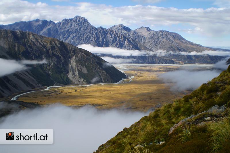 Die Berge des Mount Cook National Park