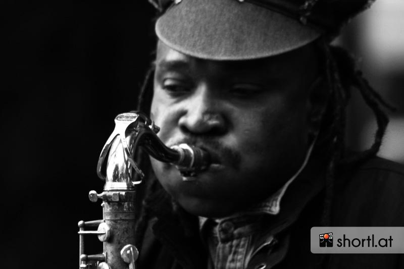 Jazzmusiker in Amsterdam