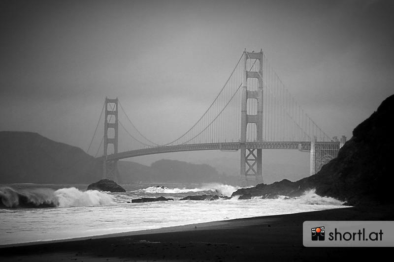 Die Golden Gate Bridge in San Francisco